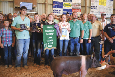 The Farmer's Exchange Online Cass County 4-H Auction Amasses Nearly